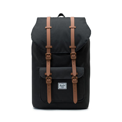 Mochila Herschel Little America Black/Saddle Brown