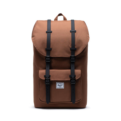 Mochila Herschel Little America Saddle Brown/Black