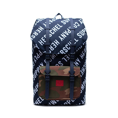 Mochila Herschel Little America Roll Call Peacoat/Woodland Camo