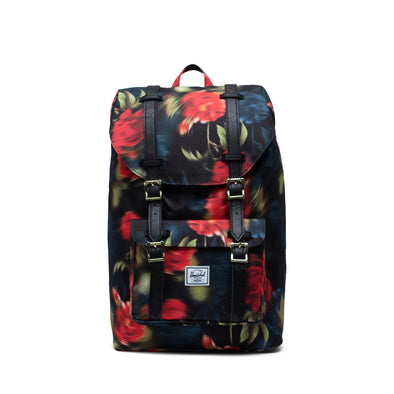 Mochila Herschel Little America Mid-Volume Blurry Roses