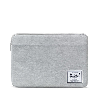 Herschel Anchor Sleeve for MacBook Light Grey Crosshatch
