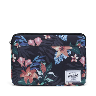 Herschel Anchor Sleeve for MacBook Summer Floral Black