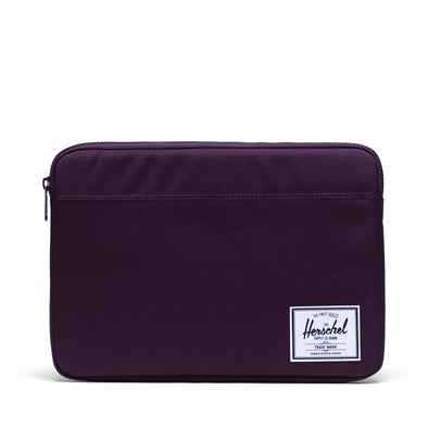 Herschel Anchor Sleeve for MacBook Blackberry Wine