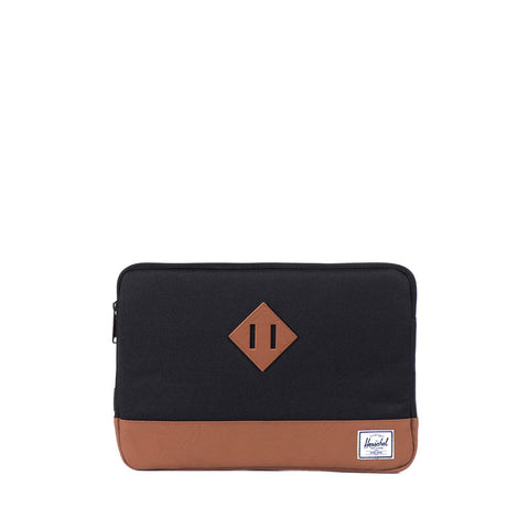 Herschel Heritage Sleeve for MacBook Black/Tan PU