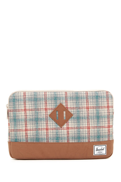 Herschel Heritage Sleeve for MacBook Grey Plaid