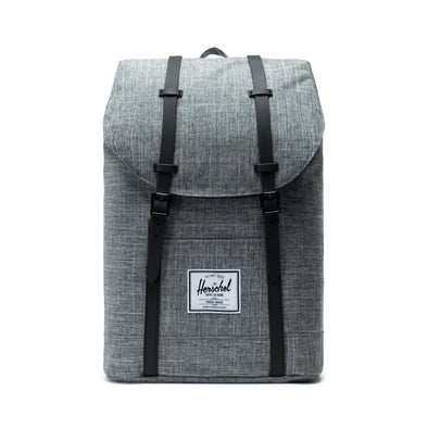 Mochila Herschel Retreat Raven Crosshatch/Black
