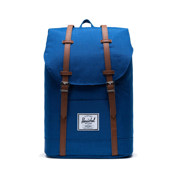 Mochila Herschel Retreat Monaco Blue Crosshatch