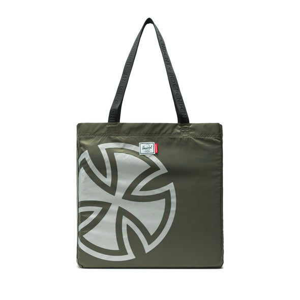 Herschel New Packable Tote Olive Night - Independent
