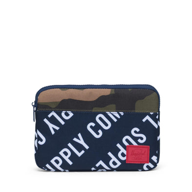 Herschel Anchor Sleeve for iPad Mini Roll Call Peacoat/Woodland Camo