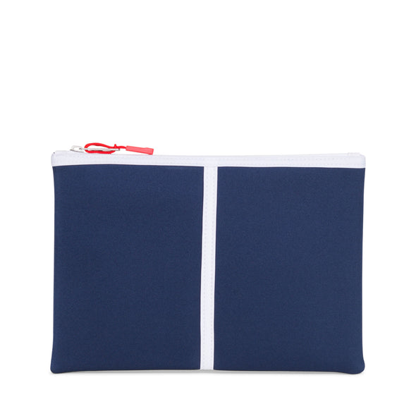 Herschel Network Large Blue Print/Red