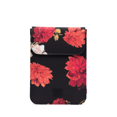 Herschel Spokane Sleeve for iPad Mini Vintage Floral Black
