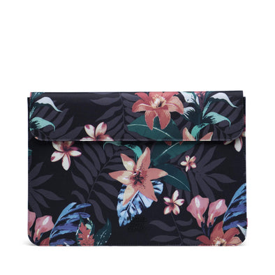 Herschel Spokane Sleeve for MacBook Summer Floral Black