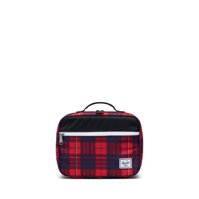 Herschel Pop Quiz Lunch Box Black/Winter Plaid