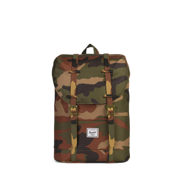 Mochila Herschel Retreat Youth Woodland Camo