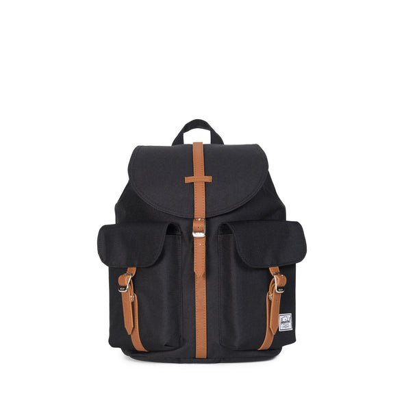 Herschel Dawson X-Small Black/Tan Synthetic Leather