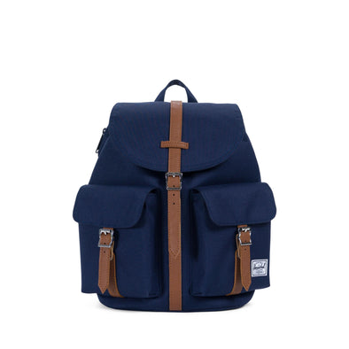 Mochila Herschel Dawson X-Small Peacoat/Tan Synthetic Leather