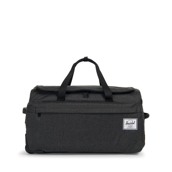 Herschel Wheelie Outfitter Black Crosshatch