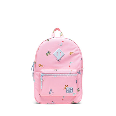 Mochila Herschel Heritage Youth Candy Pink Circus Animals