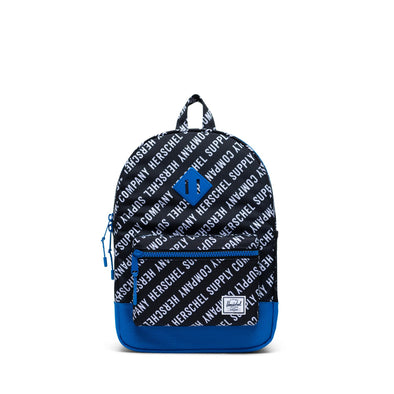 Mochila Herschel Heritage Youth Roll Call Black/White/Lapis Blue