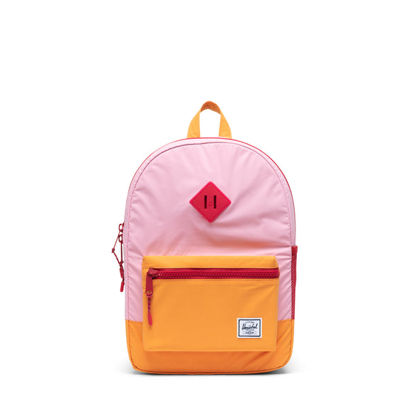 Mochila Herschel Heritage Youth Candy Pink Reflective/Blazing Orange Reflective/Red Light - Reflective