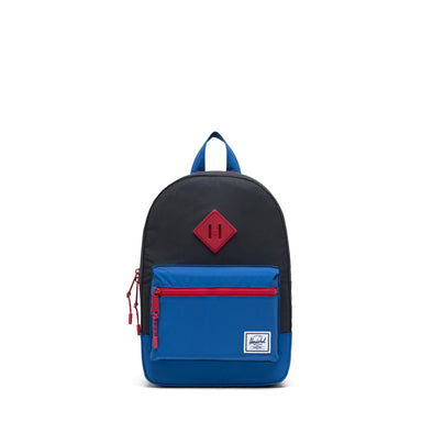Mochila Herschel Heritage Kids Black Reflective/Lapis Blue Reflective/Red Light - Reflective