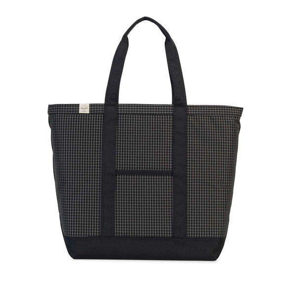 Herschel Bamfield Mid-Volume Black Grid