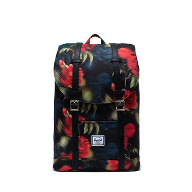 Mochila Herschel Retreat Mid-Volume Blurry Roses