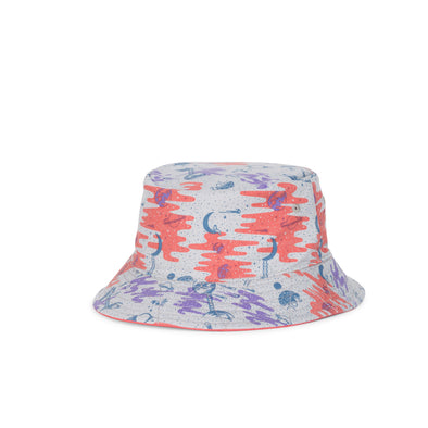 Herschel Lake Bucket Youth Coral/Space Explorers Girls