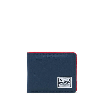 Carteira Herschel Roy RFID Navy/Red