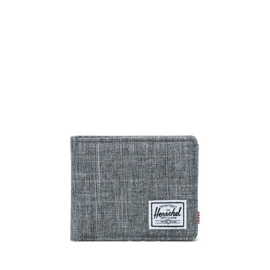Carteira Herschel Roy RFID Raven Crosshatch