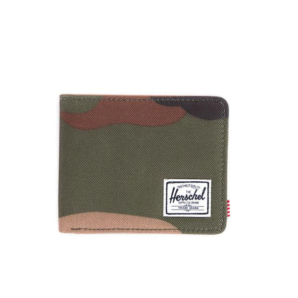 Herschel Hank RFID Woodland Camo Tan Synthetic Leather