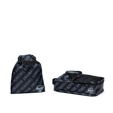 Herschel Travel Organizers Roll Call Black/Sharkskin Small