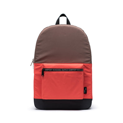 Mochila Herschel Day/Night Daypack Black/Hot Coral/Pine Bark - Reflective