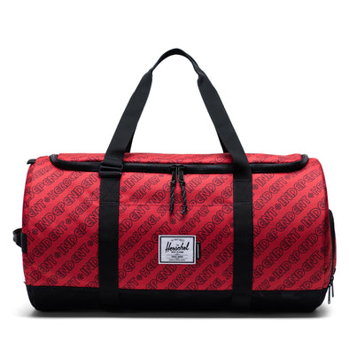Herschel Sutton Carryall Independent Unified Red/Black Camo - Independent