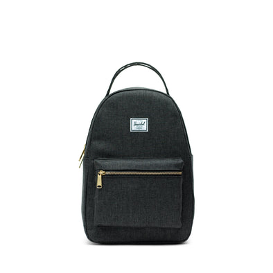 Mochila Herschel Nova Small Black Crosshatch