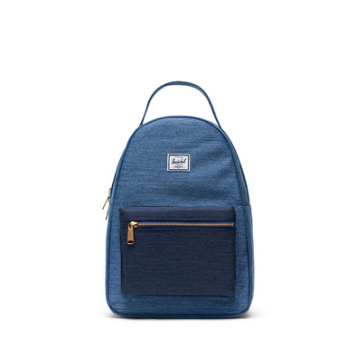 Mochila Herschel Nova Small Faded Denim/Indigo Denim