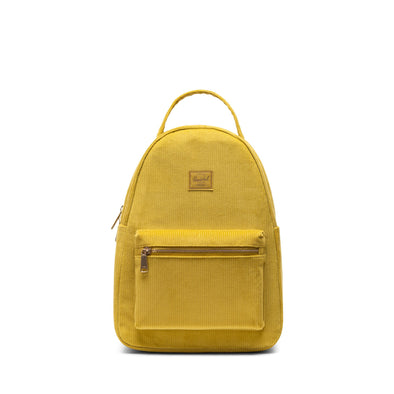 Mochila Herschel Nova Small Golden Palm - Corduroy