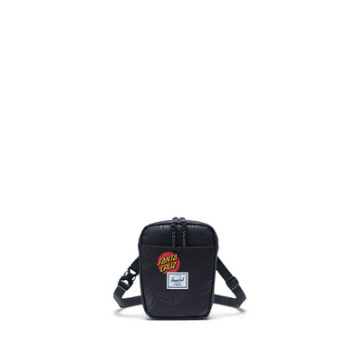 Bolsa de Cintura Herschel Cruz Black Speed Wheels - Santa Cruz