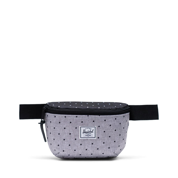 Bolsa de Cintura Herschel Fourteen Polka Dot Crosshatch Grey/Black