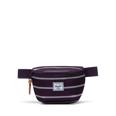 Bolsa de Cintura Herschel Fourteen Prep Stripe Blackberry Wine