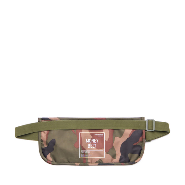 Herschel Money Belt Woodland Camo