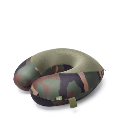 Herschel Memory Foam Pillow Woodland Camo