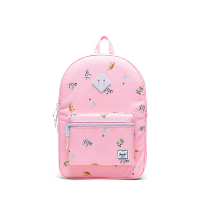 Mochila Herschel Heritage Youth X-Large Candy Pink Circus Animals