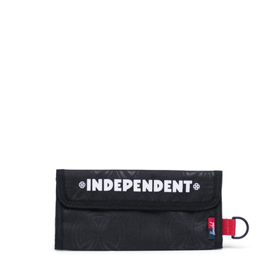 Carteira Herschel Smith Independent Multi Cross Black - Independent