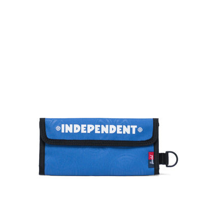 Carteira Herschel Smith Independent Multi Cross Amparo Blue - Indenpendent
