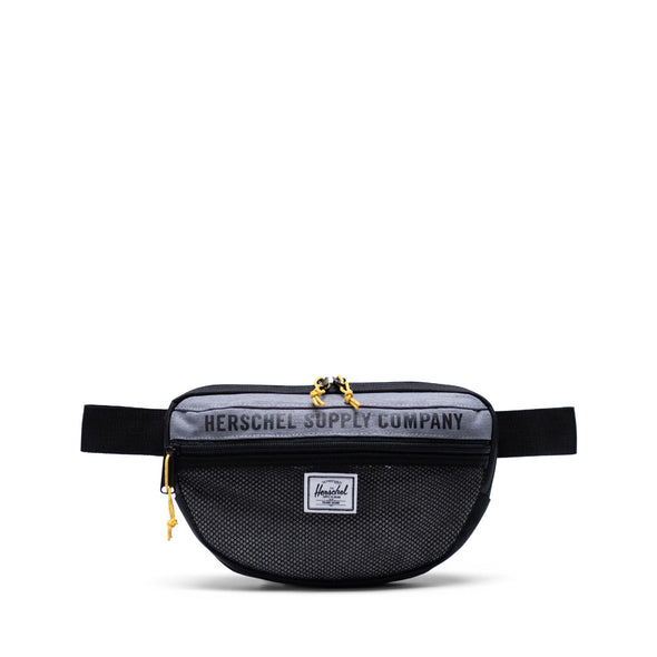Bolsa de Cintura Herschel Nineteen Mid Grey Crosshatch/Light Grey Crosshatch/Black - Herschel Supply Athletics