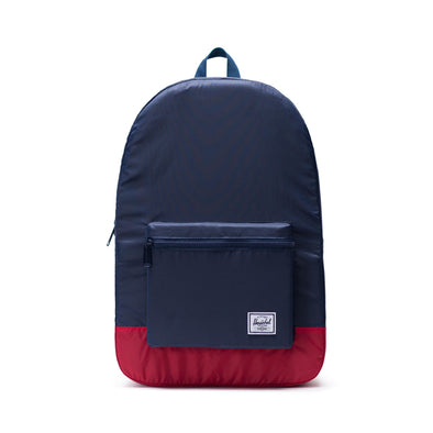Mochila Herschel Packable Daypack Navy/Red