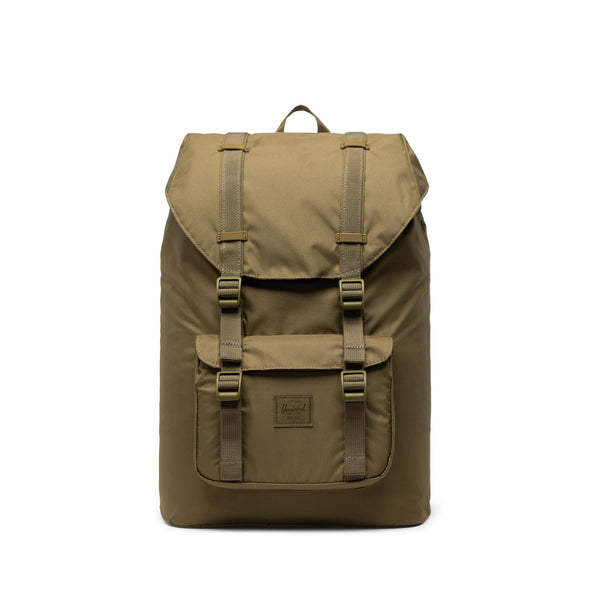 Mochila Herschel Little America Mid-Volume Khaki Green - Light