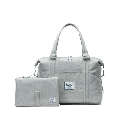 Herschel Strand Sprout Light Grey Crosshatch