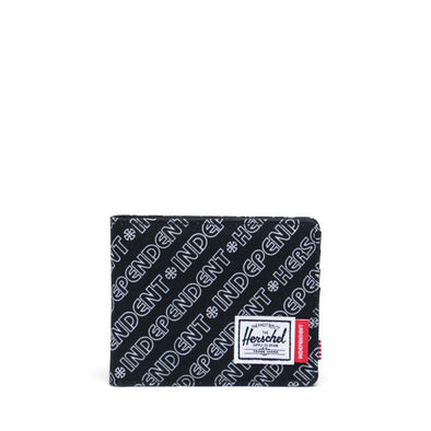 Carteira Herschel Roy RFID Independent Unified Black/Black Camo - Independent
